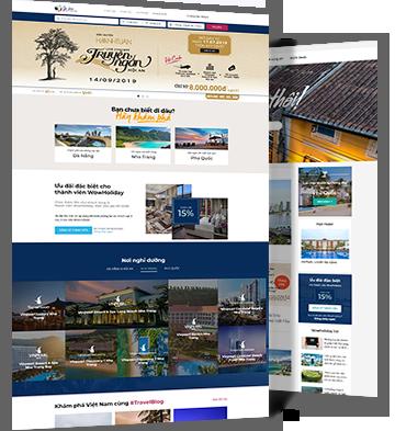 Web Khách sạn - Du lịch
