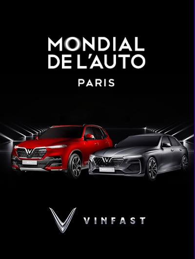 Sự kiện ra mắt VinFast Paris Motor Show 2018